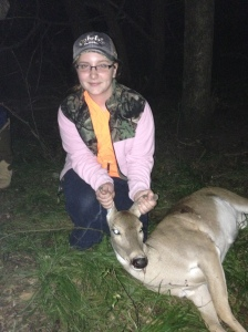 Young hunters are helping us with our harvest
